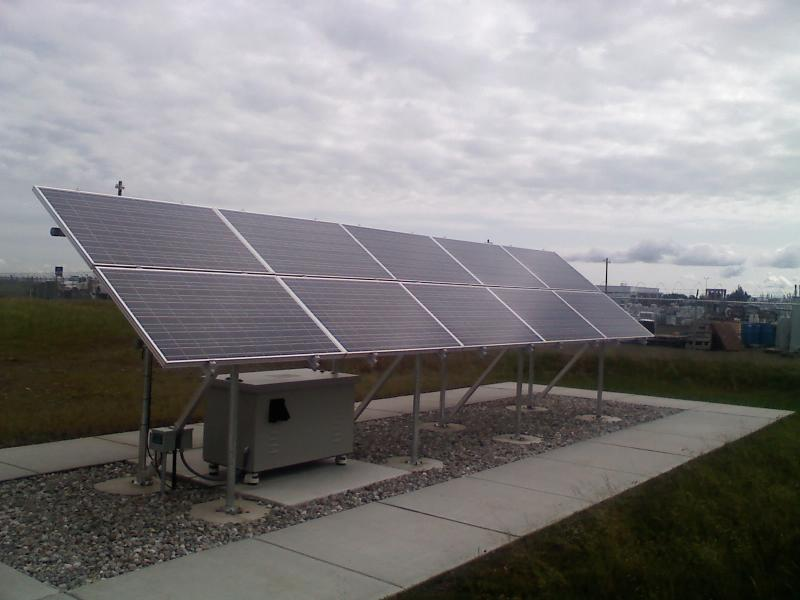2000 Watt Grid Tie Solar Array